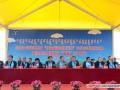 内蒙古举办首届白绒山羊选美大赛