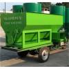 养羊设备环保型2立方电动喂料车生产厂家恒力机械厂