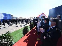 中蒙举行蒙古国向中国捐赠羊交接仪式,首批4000只入境中国